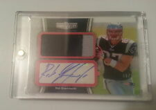 2010 Topps Unrivaled - Auto Jumbo Patch Relic - 2 Color - Rob Gronkowski  9/15