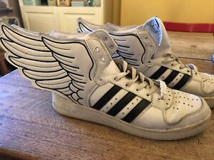 Adidas Winged Trainers Vintage Jeremy Scott Size UK 10.5