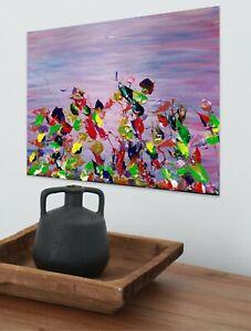 'Dreams of Summer', Original Large Painting by Paul Gorman Canvas Art 50 x 70 cm