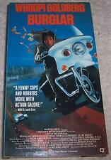 Burglar VHS Video Whoopi Goldberg