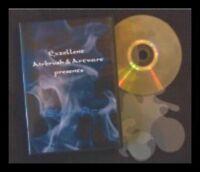 Airbrush Schablone Step by Step / Stencil / Flammen / Feuer DVD Blue Fire