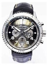 Breguet Transatlantique Flyback XXI Chronograph Automatic Mens Strap Watch 3810
