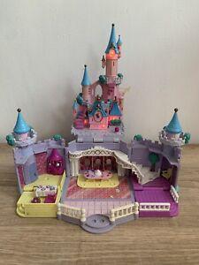 Vintage Bluebird Polly Pocket Cinderella's Castle Play-set Working Lights VGC