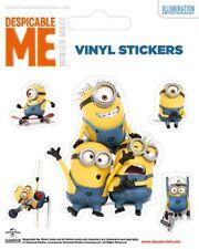 Vinyl Sticker / Aufkleber-Set Despicable Me - MINIONS Group 1xgroß 4xklein 7204
