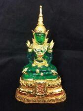 3'' Knee-to-Knee  14 k Plate Thai Buddha Emerald Phra Kaew Morakot Summer season