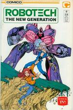 Robotech: the New Generation # 17 (estados unidos, 1987)