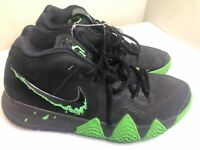 Nike Kyrie Irving 4 Halloween Black Rage Green Basketball (943806-012) Size 8