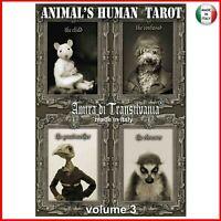 tarocchi degli animali mazzo carte gioco fortuna spiriti guida oracolo sibille 3