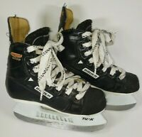 Bauer Supreme 6500 Ice Hockey Skates Youth Size 11.5 D Canada  Good Condition