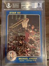 1984-85 Star Court Kings 5x7 Michael Jordan ROOKIE RC #26 BGS 9 MINT