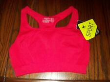 NWT WACOAL T BACK SPORTS BRA WIRE FREE 852243 605 BRITE RED XL