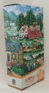 Masterpieces Jigsaw Puzzle; Making a Wish; art by Bonnie White, 500 pcs, #32047