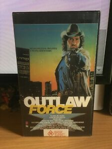 1988 Outlaw Force VHS Video Tape Macro Entertainment