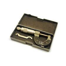 Micrometer 0 - 25mm External Engineers Micro Analogue Measure Gauge TE244