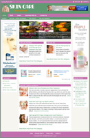SKIN CARE - Professionally Designed Affiliate Website - Free Installation