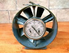 Vintage COAL MINING ANEMOMETER w/ 1985 sticker miner West Virginia antique OLD