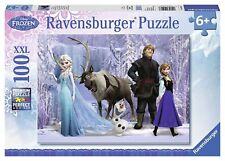 DISNEY FROZEN - IN THE REALM OF THE SNOW QUEEN - 100 XXL PIECE JIGSAW PUZZLE