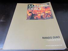 Mando Diao Hurricane Bar Japan Score Song Book Tab for Guitar
