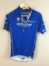 Santini Hand Made In Italy NWT Women's cycling 3/4 zip Jersey sz L Free Ship US
