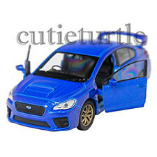 "4.5"" Welly 2015 Subaru WRX STi Diecast Toy Car 43693D Blue"