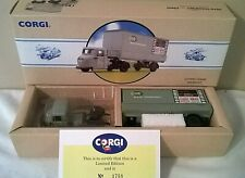 Corgi Classics 97913 Scammell Scarab Rail Freight Grey.