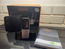 Gigaset Cordless Phone and Answerphone Land Line Hardly Used Handheld SL400