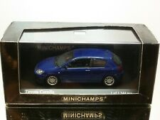 MINICHAMPS 166100 TOYOTA COROLLA 2-dr 2001- STELLAR BLUE 1:43 - EXCELLENT IN BOX