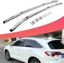 2Pcs Aluminum Roof Rail Rack Side Rail Bar Fits for Acura RDX 2019 2020 2021
