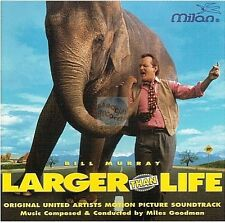 LARGER THAN LIFE bande originale du film CD ALBUM miles goodman OST