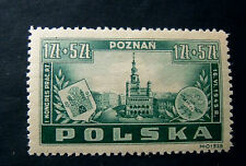 "POLONIA,POLAND,POLSKA, 1945 "" Congresso Impiegati Poste Poznam"" 1V. cpl set MH"