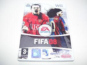 FIFA 08 2008 * NINTENDO WII PAL GAME  *