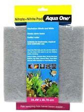 Aqua One A1-10458 Nitrite/Nitrate Pad SelfCut Filter Pad 25.4x45.7cm Tank & Pond