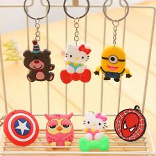10PCS Kids birthday party supply gift favor girl boy keychain souvenir