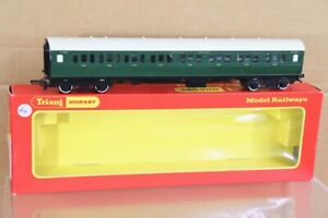 TRIANG HORNBY R749 SOUTHERN SR 1st 3rd CLASS COACH S1750 BOXED nt
