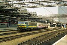 SNCB 2158 Brussels 6x4 Quality Rail Photo