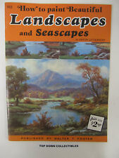 How To, Landscapes & Seascapes by Anton Gutknecht    Walter Foster Pub.  #176