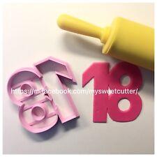 Formine Numero 18 FORMINA BISCOTTI COOKIE CUTTER 8cm