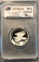 2014-P PCGS Australia 5 oz Silver Proof Wedge Tailed Eagle PR69 DCAM High Relief