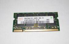 Hynix 2GB 2Rx8 PC2-6400S DDR2 Laptop Memory RAM HYMP125S64CP8-S6 AB-C (K10-04)