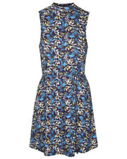 BNWT Topshop Floral High Neck Sleeveless Tunic Dress, Size 6, RRP £20