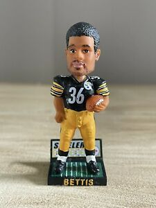 """JEROME """"The Bus"""" BETTIS Pittsburgh Steelers 3"""" Magnetic Bobblehead NEW!"""