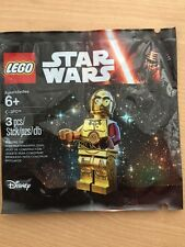 Lego Star Wars Mini Figure C-3PO Red Arm - Limited Edition, BN Polybag