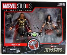 """In STOCK Marvel Legends Cinematic Universe """"Thor and Sif"""" 2 Pack Action Figure"""