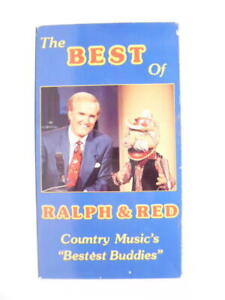 """The Best Of Ralph & Red Country Music's """"Bestest Buddies"""" VHS 1993"""