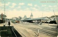 C-1910 Lewiston Maine Central Railroad Leighton Postcard 10299