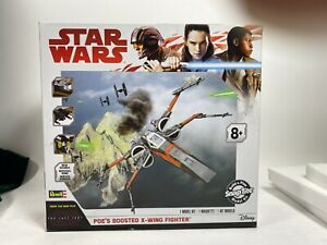 Star Wars The Last Jedi Poe's Boosted X-Wing Fighter Revell N/S 2017
