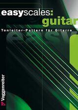 easy scales:  Gitarre Tonleiter-pattern Improvisieren
