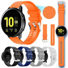 For Samsung Galaxy Watch Active 2 44 42 40mm Silicone Sport Band Strap Bracelet