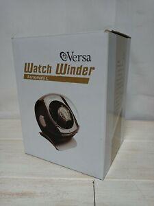 Versa Single Black Automatic Watch Winder Multiple Programs Model G083