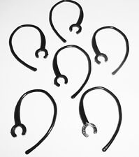 6 Bluetooth Headset Black Plastic Ear Hook Loop Replacement Clip for Plantronics